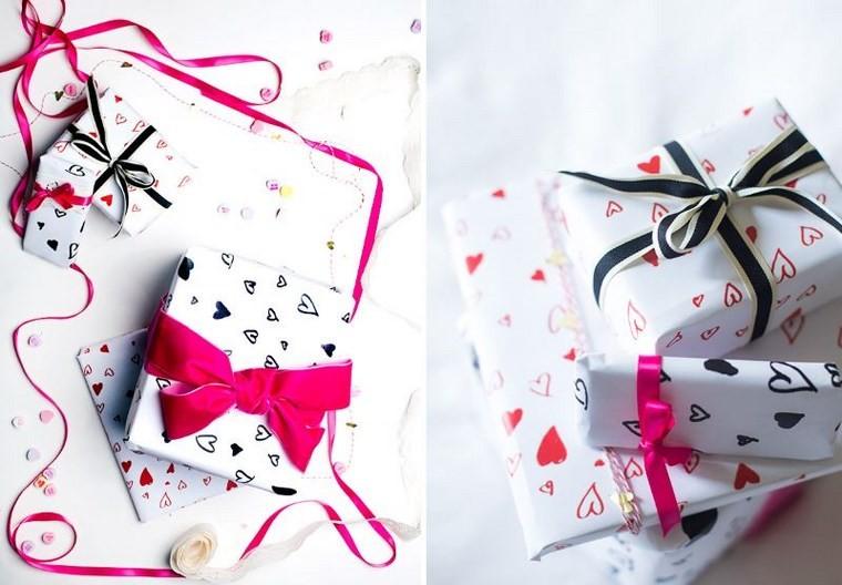 san valentin preciosa papel regalos ideas