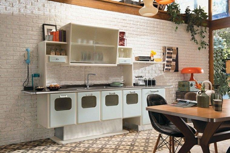decoración vintage cocina preciosa ideas