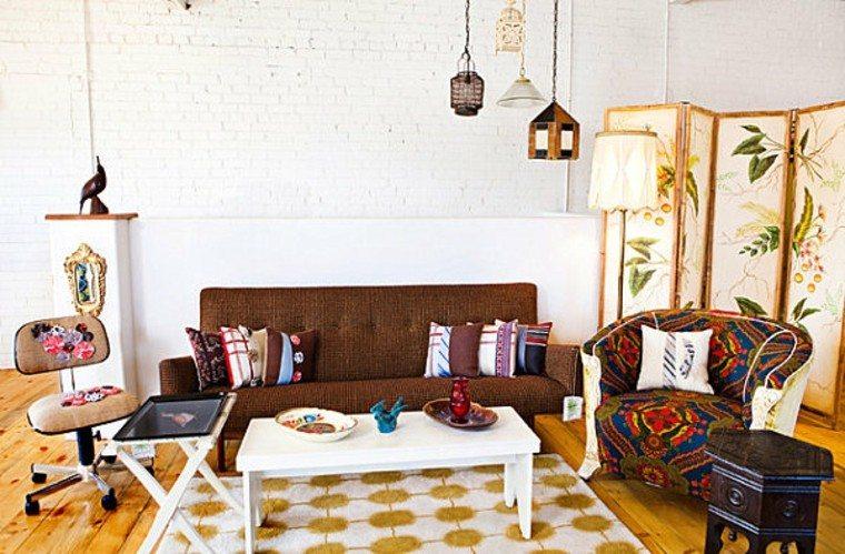 decoración vintage combinado estilo moderno ideas