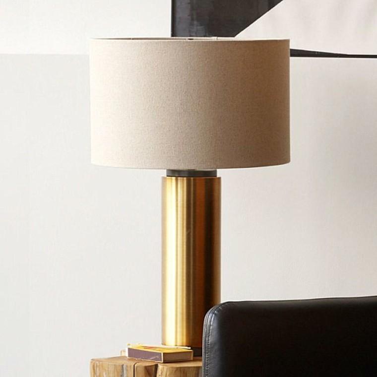 decoración vintage mesa lamapara oro ideas