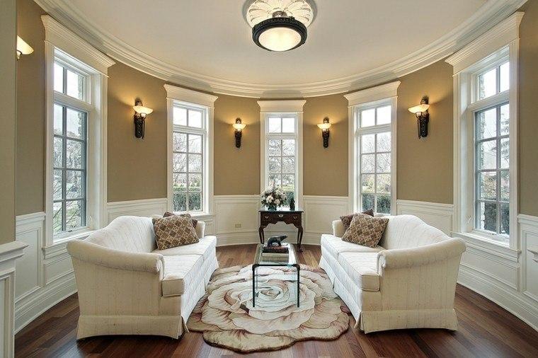 decoraciones salones alfombra sofas ideas