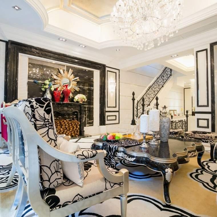 Decoraciones de salones formales y casuales for Decoracion de salones en blanco
