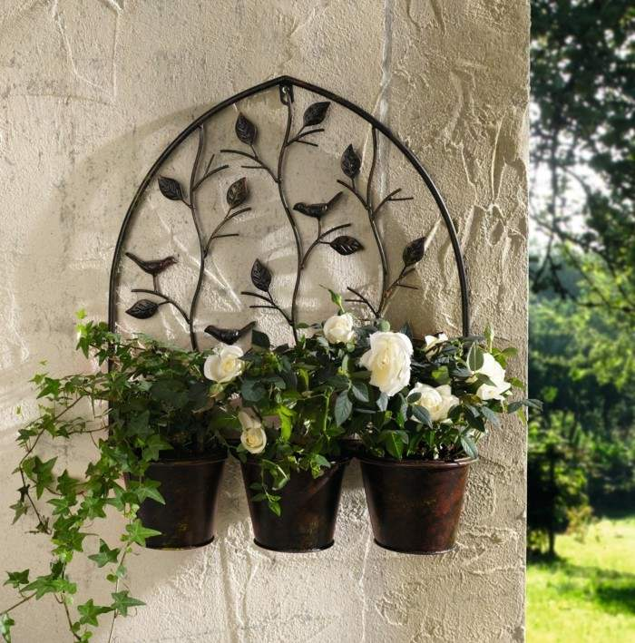Adornos jardin e ideas originales en 100 im genes for Adornos colgar pared