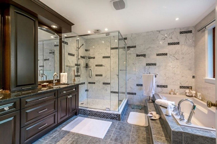 Cortinas De Baño Grandes:Decorar baños 39 fotos con ideas inspiradoras -