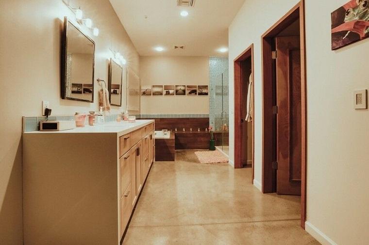 decorar baños estilo originalidad colores claros ideas