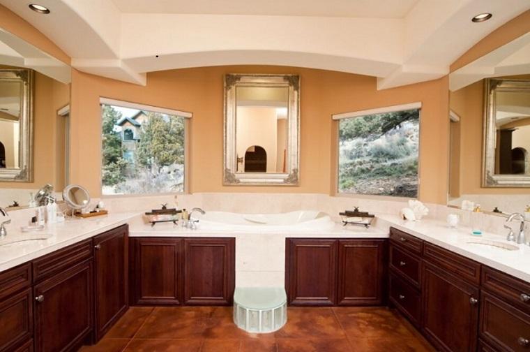 decorar baños estilo originalidad dos ventanas ideas