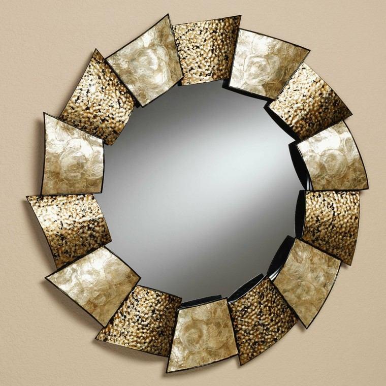 decorar pared espejo precioso ideas