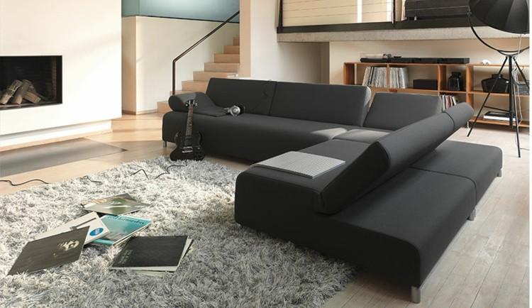 decorar salon estilos casa chimenea alfombras