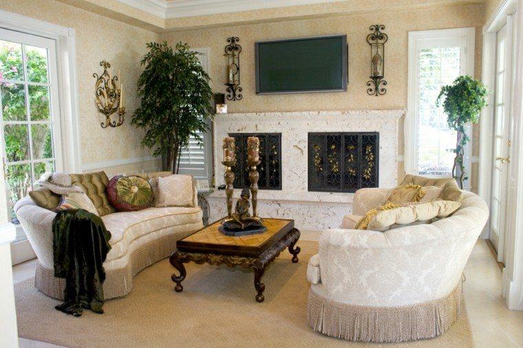 decorar salon pequeno sofas preciosas ideas