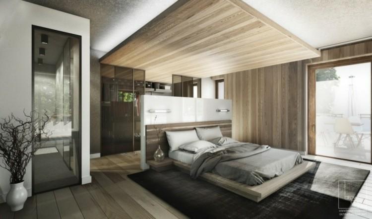 diseño habitacion deco madera