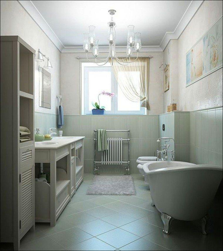 diseño baño deco estilo retro