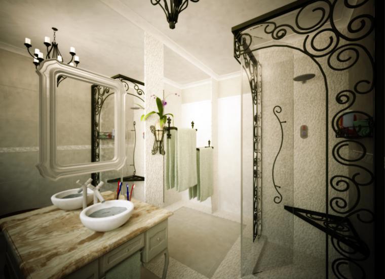 baño moderno original diseño