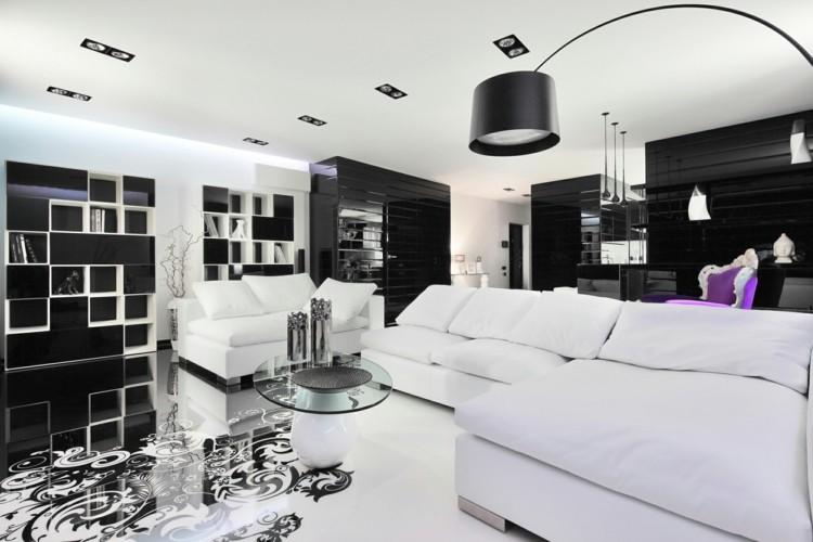 diseño casa decoracion blanco sillas