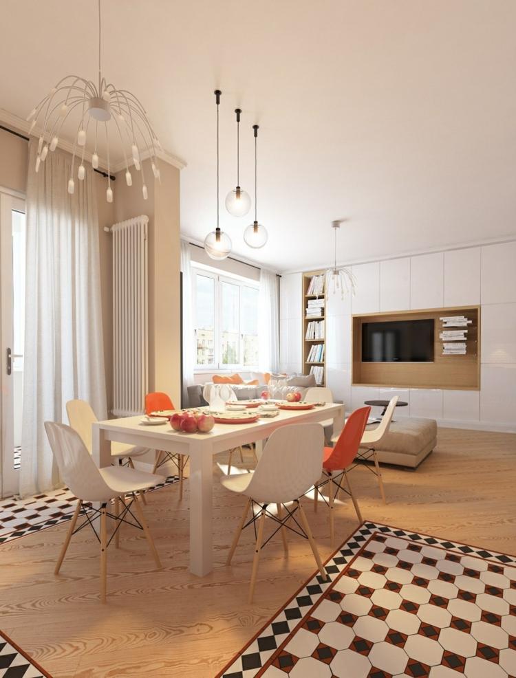 diseño casa decoracion variantes naranja