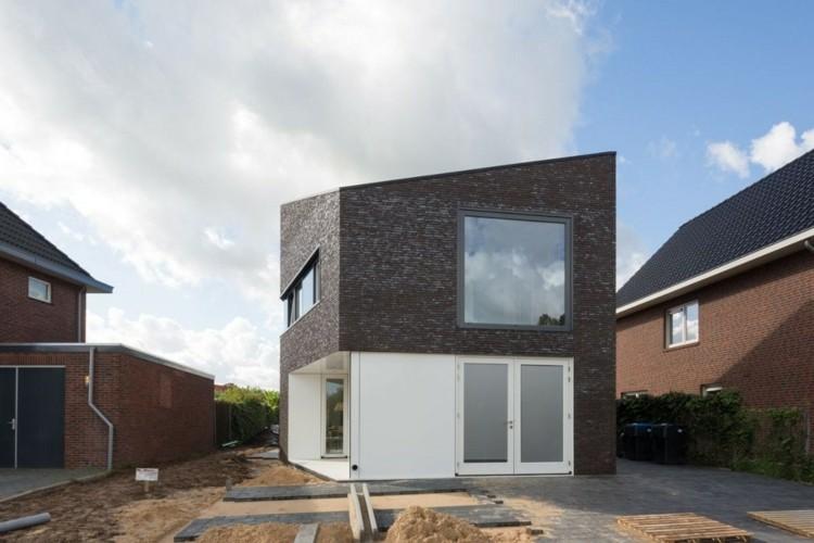 diseño casa moderna fachada disño