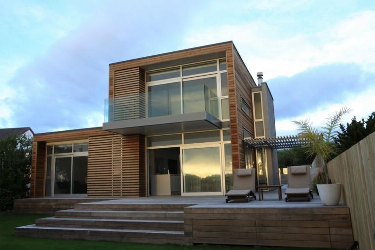 diseño casas fachadas contemporaneas