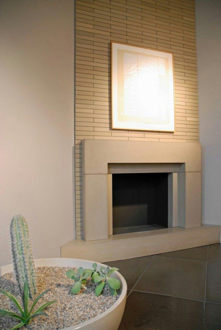 diseño chimenea obra moderna deco