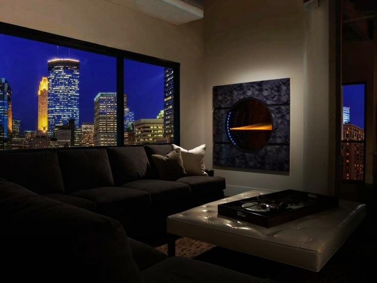 diseño chimeneas modernas salones Solaris