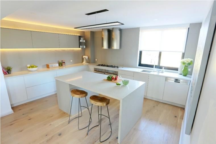 diseño cocina blanca nórdica