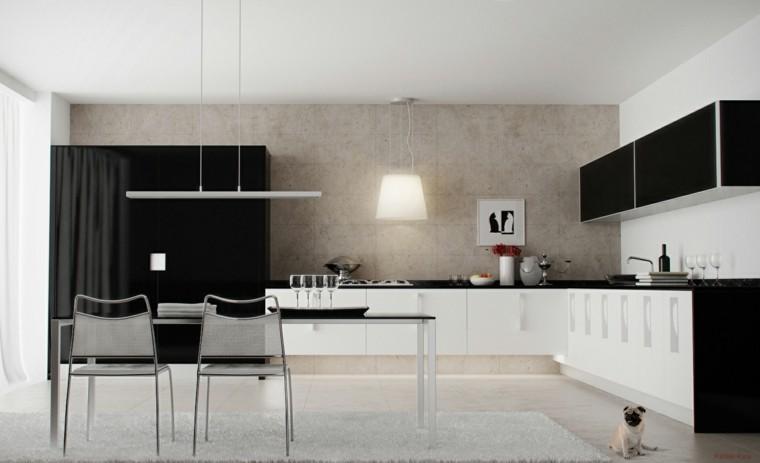 diseño cocina minimalista estilo moderno