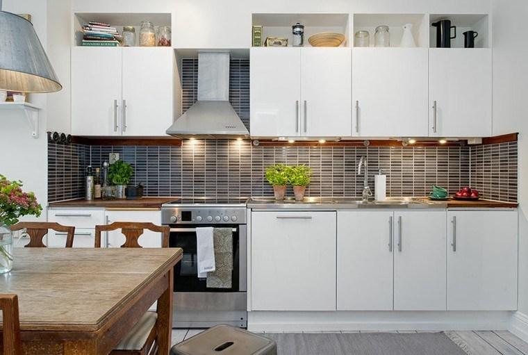 diseño cocina estilo tradicional moderno