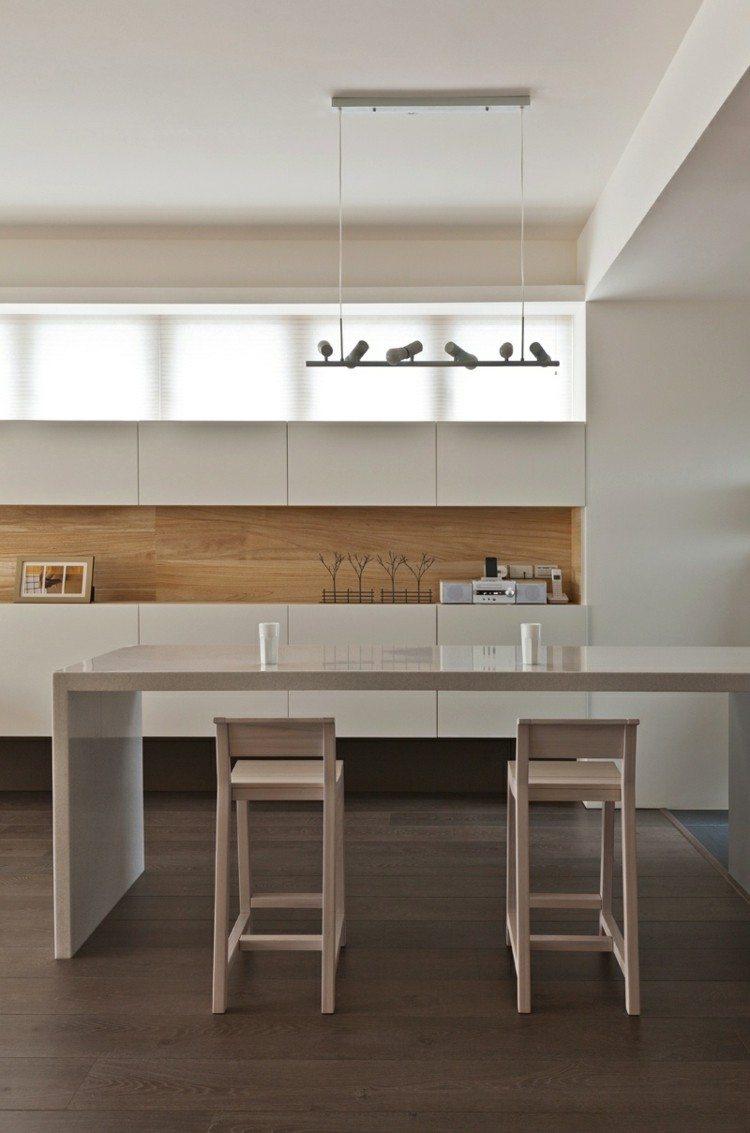 diseño cocinas soluciones maderas paredes