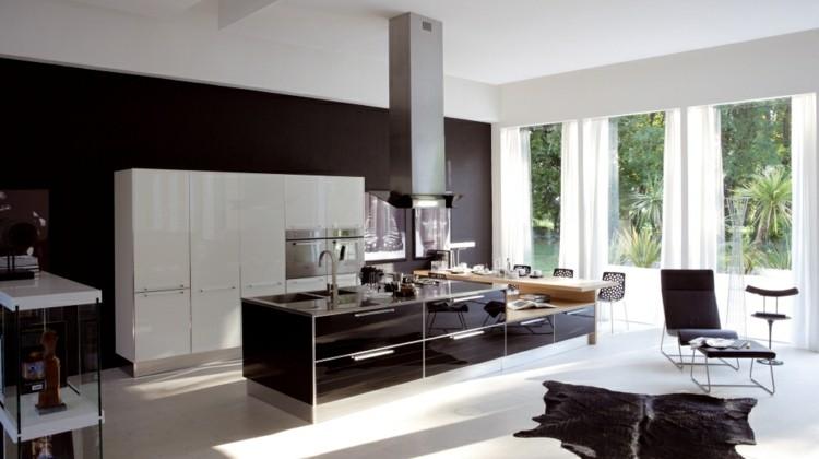 diseño cocinas soluciones sillones marrones