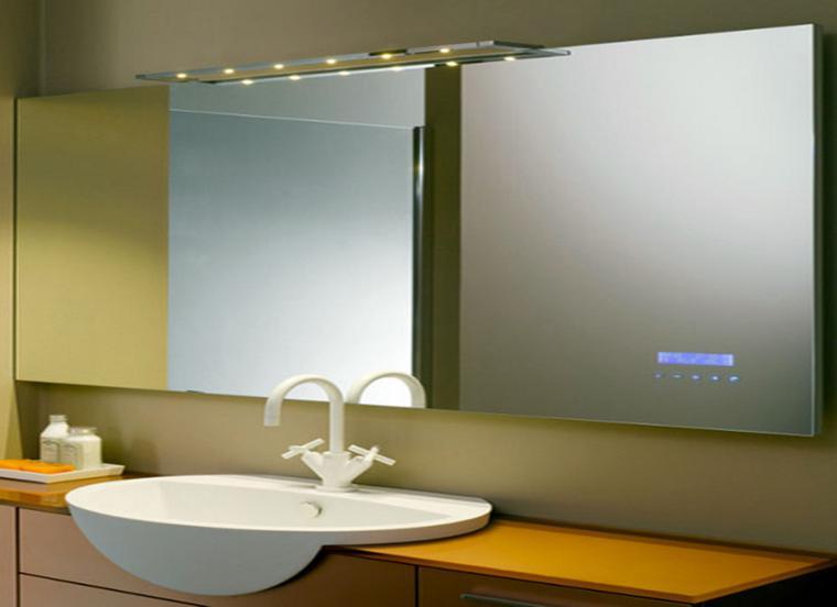 Espejos para ba os los 38 modelos m s modernos for Espejos originales para salon