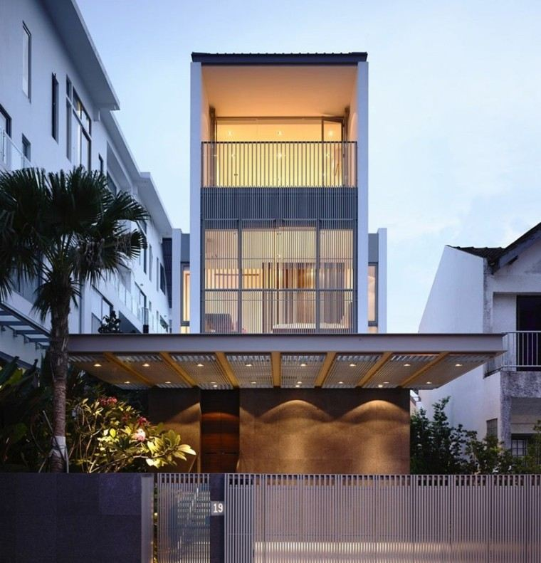 Fachadas modernas de estilo contempor neo - Edificios minimalistas ...