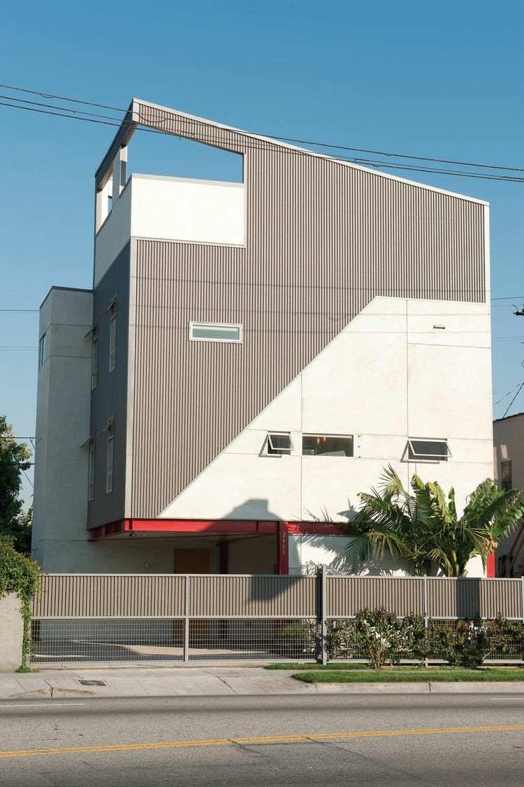 diseño fachadas modernas estilo moderno