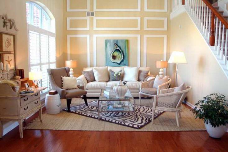 diseño muebles sala de estar