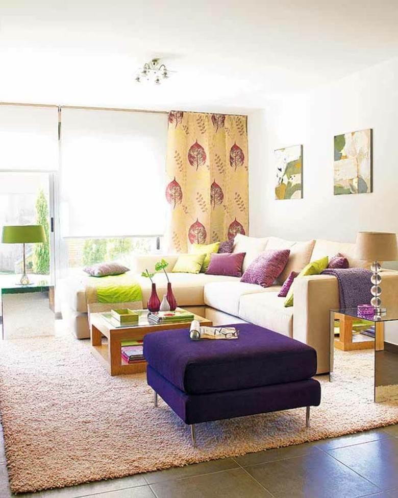 diseño salones bonitos colores