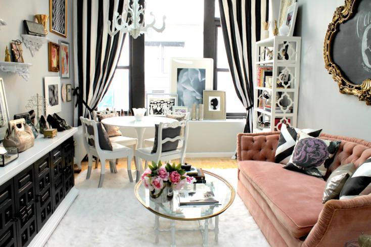 Shabby chic en la sala de estar 98 dise os encantadores - Muebles estilo romantico ...