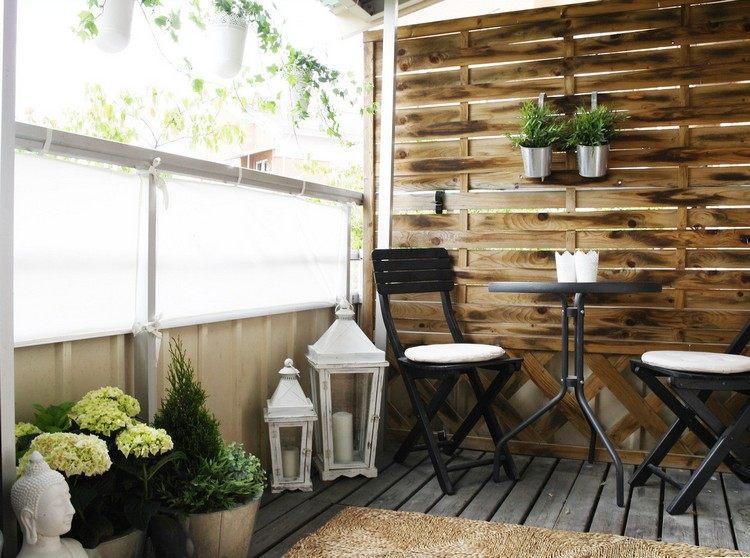 Persianas vallas y rejas de madera para la terraza for Celosia terraza