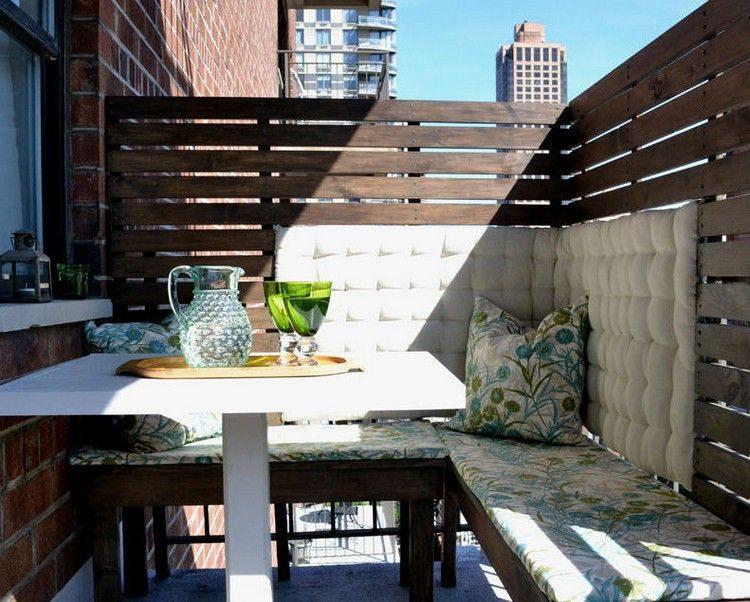 diseño valla madera terraza
