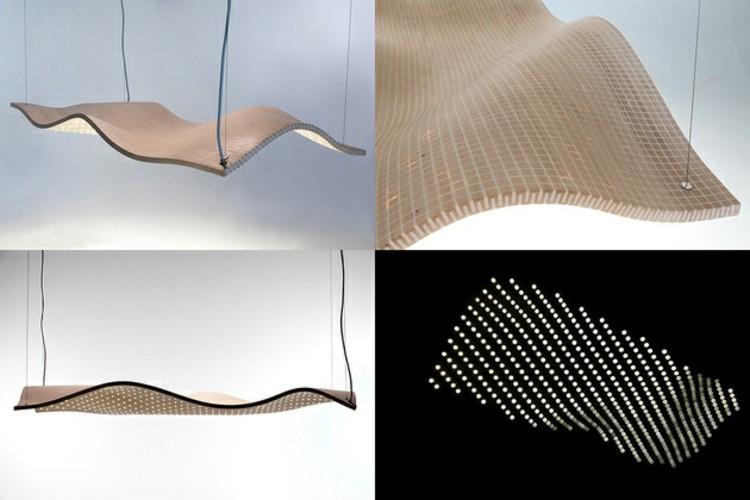 diseño variado estilos lineas futurista