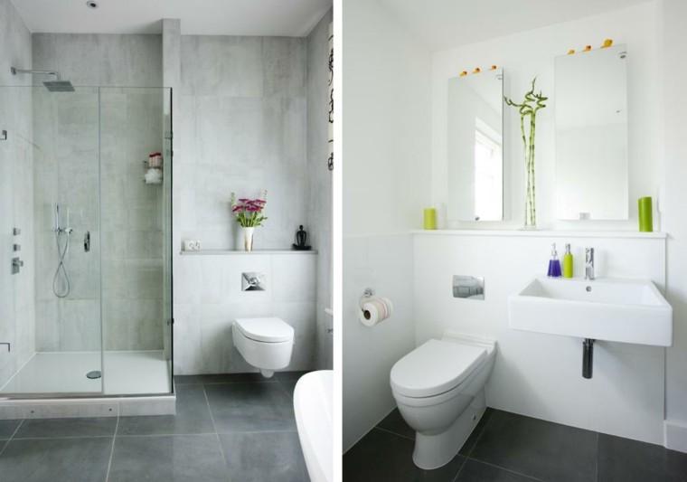 diseño baños revestimiemntos cemento