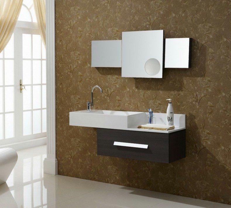 diseño espejos para baños modernos