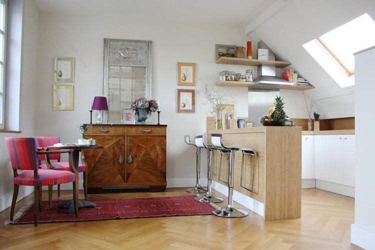 diseños elegante muebles rojos sillas