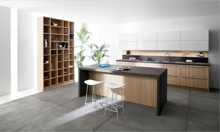 diseños modelos de cocinas contemporáneas