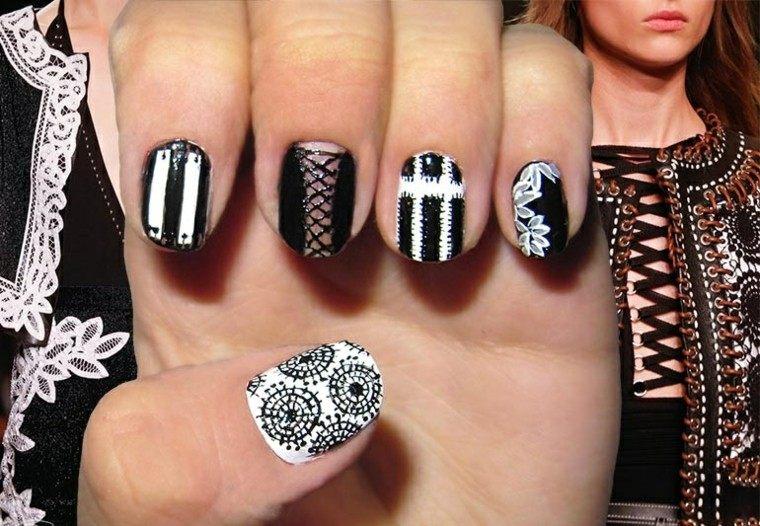 diseño de uñas inspiradas Givenchy ideas