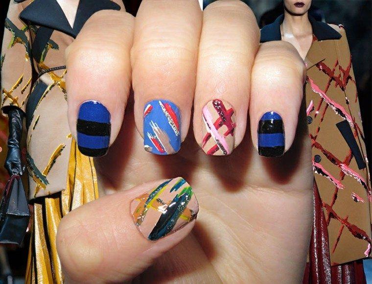 diseño de uñas inspiradas pasarela marc jacobs ideas