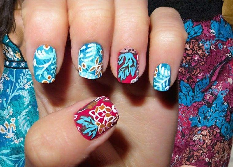 diseño de uñas inspiradas pasarela preciosas ideas