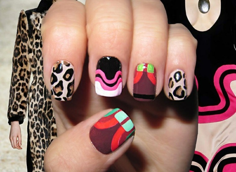 diseño de uñas inspiradas pasarela tom ford ideas