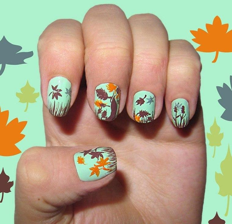 Diseño de uñas tendencias e ideas para el invierno 2015 -