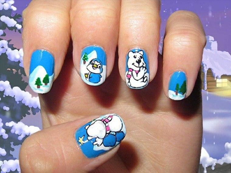 diseno unas navidenas pinguino oso ideas