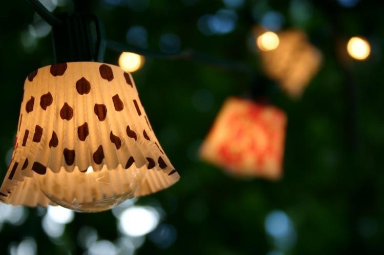 diy decorado exteriores comedor lunares