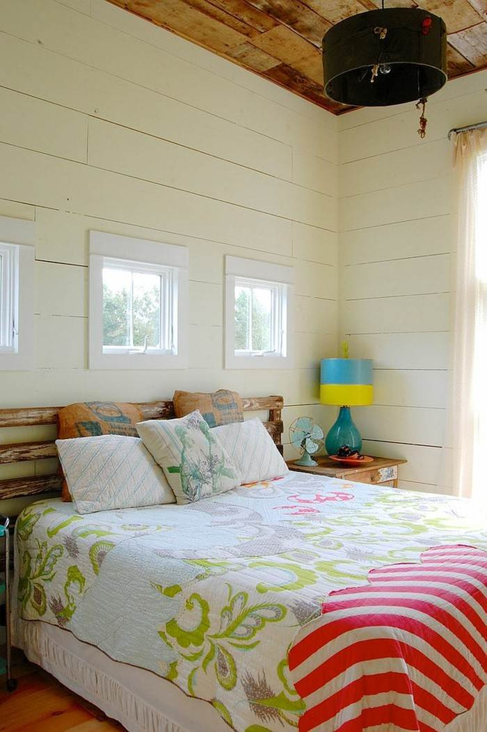 dormitorio colorido estilo vintage ideas
