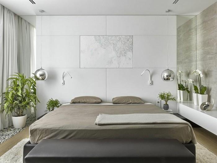 dormitorio moderno plantas estilo zen ideas