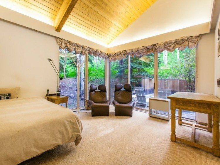 dormitorio estilo moderno estilo rstico